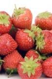 成熟s草莓 库存图片