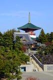 成田圣寺庙在成田日本 免版税库存图片