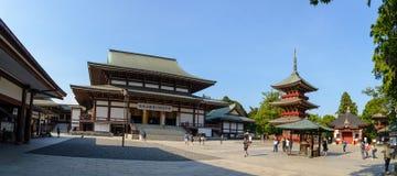 成田,千叶,日本- 2018年7月:成田圣Shinshoji寺庙有位于中央成田的在1000年期间的历史 免版税库存照片