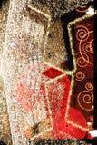组成的圣诞节装饰 库存图片