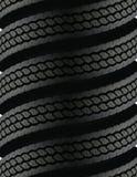 成螺旋形上升的轮胎 免版税库存图片