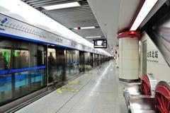 成都地铁 免版税库存照片