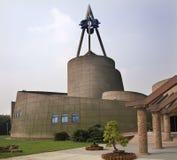成都瓷博物馆sanxingdui四川 库存图片