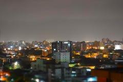 成长中的城市 免版税库存照片