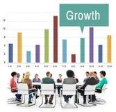 成长进展发展象概念 免版税库存图片