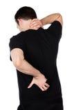 成年男性舞蹈家 库存照片