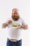 我不喜欢菜 免版税图库摄影