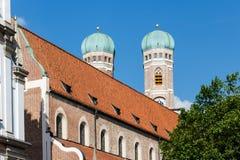 我们亲爱的夫人大教堂,慕尼黑,德国 免版税库存照片