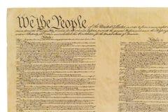 我们人民-平直的前面 免版税图库摄影