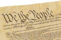 我们人民-正确的饰面视图 免版税库存图片