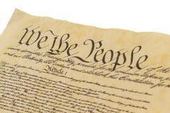 我们人民-面对 免版税库存照片