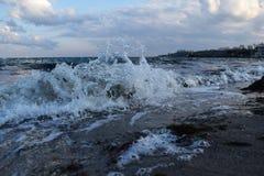 我们喜爱的美丽的傲德萨海 免版税库存图片