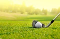我们打高尔夫球 免版税图库摄影