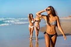 我们爱海滩 免版税库存图片