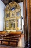 我们的假定的夫人大教堂在丰沙尔,马德拉岛海岛,葡萄牙 库存图片