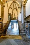 我们的假定的夫人大教堂在丰沙尔,马德拉岛海岛,葡萄牙 免版税库存图片