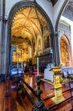 我们的假定的夫人大教堂在丰沙尔,马德拉岛海岛,葡萄牙 库存照片