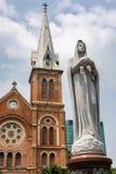 我们的圣母无染原罪瞻礼的夫人大教堂大教堂  免版税图库摄影