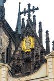 我们的在Tyn之前的夫人教会在布拉格 免版税库存照片