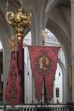 我们的夫人大教堂-安特卫普在比利时 免版税图库摄影