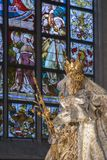 我们的夫人大教堂-安特卫普-比利时 图库摄影