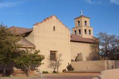 我们的夫人Santa Fe NM寺庙  免版税库存照片
