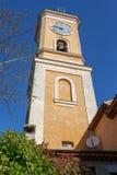 我们的夫人Tower教会在Eze 库存照片