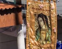 我们的瓜达卢佩河的夫人的图象 免版税图库摄影