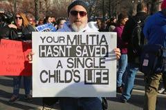 我们的生活抗议的34,华盛顿, D 3月 C 免版税库存图片