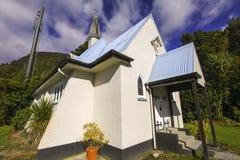 我们的阿尔卑斯教会的夫人 库存图片