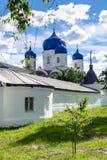 我们的Bogolyubovo在圣洁Bogolyubovo修道院里,弗拉基米尔地区的夫人象大教堂  免版税图库摄影