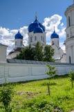 我们的Bogolyubovo在圣洁Bogolyubovo修道院里,弗拉基米尔地区的夫人象大教堂  免版税库存照片