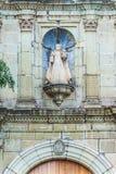 我们的La默塞德寺庙的夫人在瓦哈卡墨西哥 库存图片