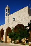 我们的Nourieh教会,黎巴嫩的夫人。 库存照片