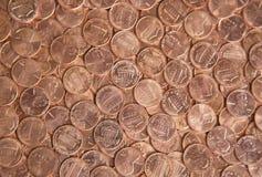 我们硬币 库存图片