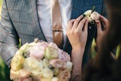 我们美好的婚礼 免版税图库摄影