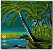 我做的海岛图片 免版税图库摄影