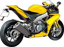我原始的摩托车设计 免版税库存照片