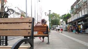 我可爱的城市,日惹 免版税库存照片