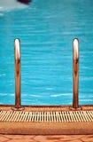我合并游泳 免版税库存图片