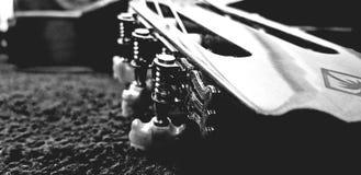 我吉他的musima 库存照片