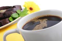 我咖啡的早晨 库存图片