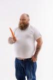 我喜欢吃健康食物 免版税图库摄影