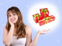 我喜欢圣诞节 免版税库存图片