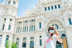 我喜欢马德里 免版税库存图片