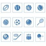我图标体育运动 免版税库存图片