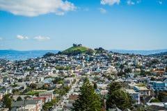 我在旧金山把我的心脏留在 免版税库存图片