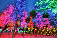 我城市主题乐园,莎阿南马来西亚 库存图片