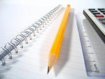 我填充铅笔文字 免版税库存照片