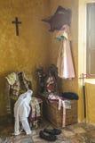 我带来了toreador& x27; 在一把老椅子的s 库存照片